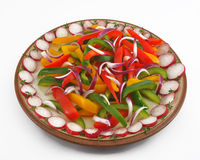 Salad peppers Stock Photography