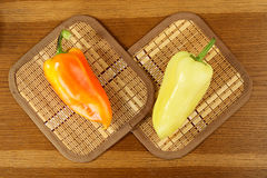 Salad peppers Stock Photo