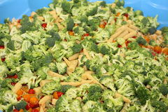 Salad. A picture of a salad Royalty Free Stock Images