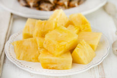 Salad pineapple Stock Photo