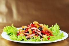 Salad on  plate Royalty Free Stock Photo