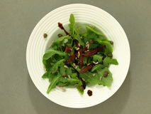 Salad in plate Royalty Free Stock Image