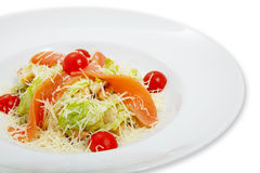 Salad on a plate Stock Images