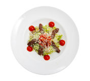 Salad on a plate Royalty Free Stock Photography