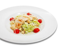 Salad on a plate Royalty Free Stock Images