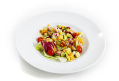Salad on a plate Stock Image