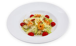 Salad on a plate Stock Photography
