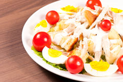 Salad plate Stock Photo