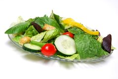 Salad plate Royalty Free Stock Photography