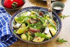 Salad with potatoes, Stock Photos