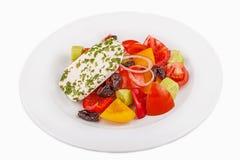 Salad with prune Stock Photos