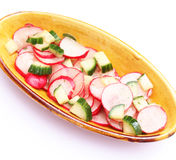 Salad of radish Stock Photos