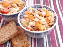 Salad of rice Royalty Free Stock Photos