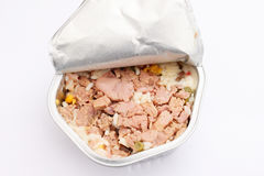 A salad of rice and tuna fish Stock Photography