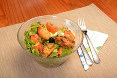 Tasty chicken salad Royalty Free Stock Images