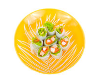 Salad roll vegetables Royalty Free Stock Photo