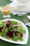 Salad with ruccola Royalty Free Stock Image