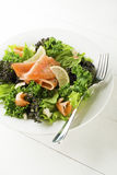 Salad with salmon Stock Photos