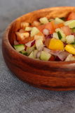 Salad salsa in a bowl Stock Image