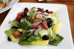 Salad with salted herring Stock Photography