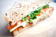 Salad sandwich Royalty Free Stock Images