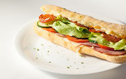 Salad sandwich Royalty Free Stock Photography