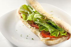 Salad sandwich Royalty Free Stock Photos
