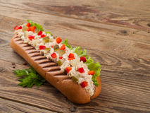 Salad sandwich Royalty Free Stock Image