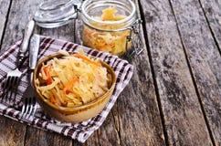 Salad of sauerkraut Stock Image