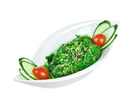 Salad from sea seaweed (chucky) Stock Images