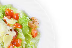 Salad with seafood Royalty Free Stock Images