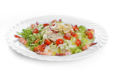 Salad with seafood Stock Images