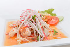 Salad Seafood Thai Style Royalty Free Stock Photos