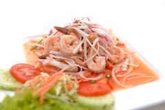 Salad Seafood Thai Style Royalty Free Stock Image