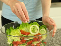 Salad seasoning Stock Photos