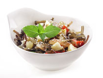 Salad of seaweed Royalty Free Stock Photo