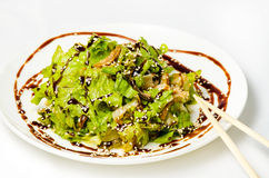 Salad of seaweed. Royalty Free Stock Photography