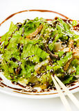 Salad of seaweed. Stock Images
