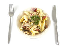 Salad is served Royalty Free Stock Images
