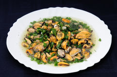 Salad shellfish delicacy Stock Photography