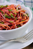 Salad of shredded vegetables Stock Photography