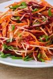 Salad of shredded vegetables Royalty Free Stock Images