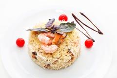 Salad with shrimp Stock Photo