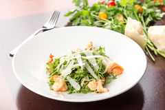 Salad with shrimp Stock Photography