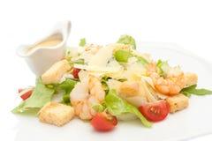 Salad with shrimp Royalty Free Stock Photo