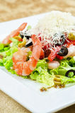 Tasty seafood salad Royalty Free Stock Images