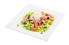 Tasty seafood salad Royalty Free Stock Image