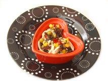 Salad of spaghetti Stock Image