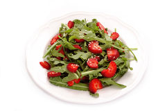 Salad with strawberry Royalty Free Stock Photos