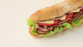 Salad Sub Stock Photo